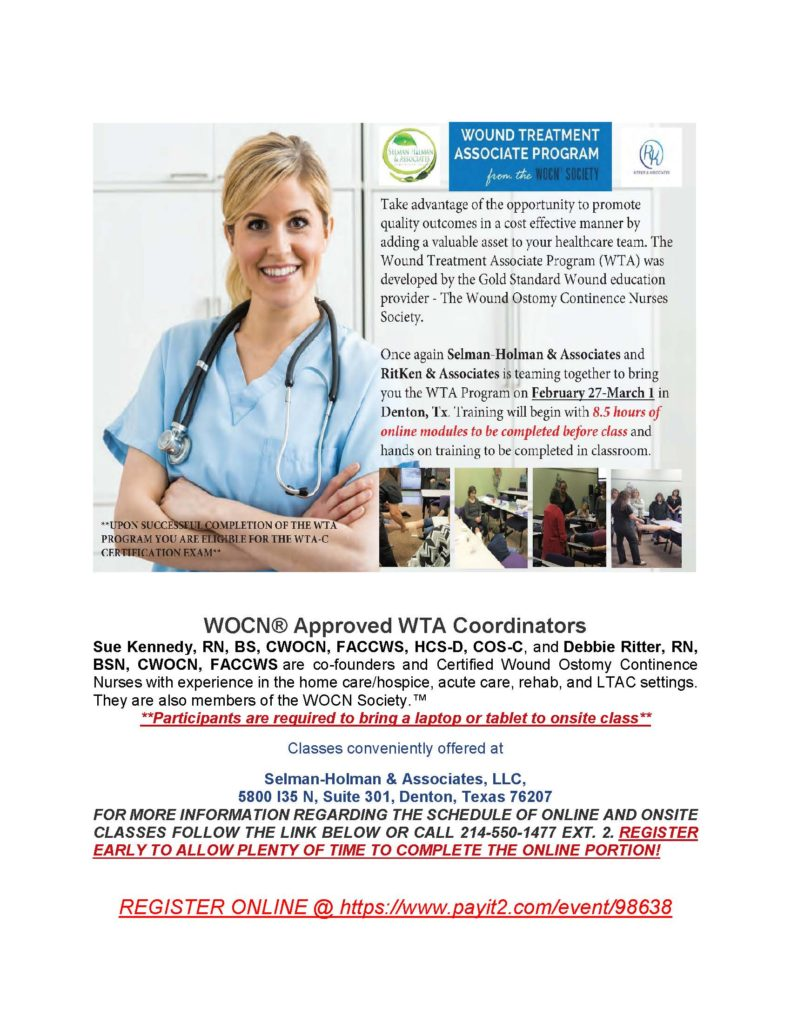 WTA Course Offering